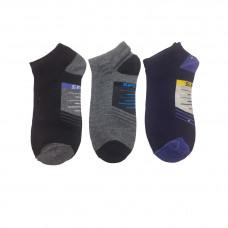 Ανδρικές Σετ κάλτσες σοσόνια 3 Ζευγάρια 862 - Μαύρο/Μπλε/ Γκρι