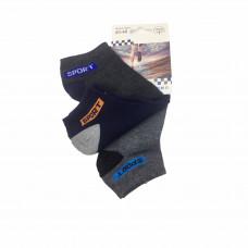 Ανδρικές Σετ κάλτσες σοσόνια 3 Ζευγάρια 863 - Γκρι/Μπλε/ Γκρι Σκούρο
