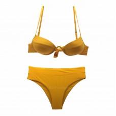 Γυναικείο Μαγιό σετ μπικίνι 0339 - Κίτρινο