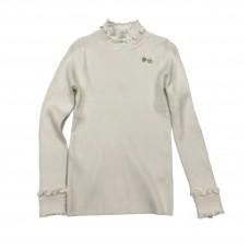 Μπλούζα με βολάν 2008 - Λευκό