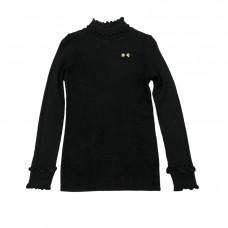 Μπλούζα με βολάν 2008 - Μαύρο