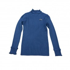 Μπλούζα με βολάν 2008 - Μπλε