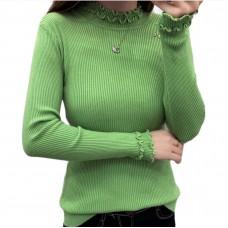 Μπλούζα με βολάν 2008 - Πράσινο