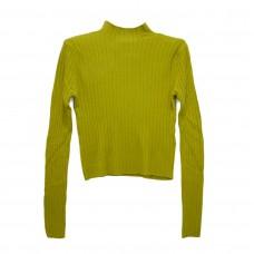 Μπλούζα Ριπ πλεκτή 8033 - Κίτρινο