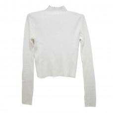 Μπλούζα Ριπ πλεκτή 8033 - Λευκό